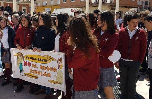 Marcha contra el bullying